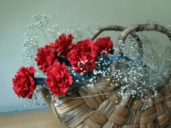 Papirnato cvetje 02 - nageljn