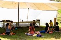 Jutranja joga in pranajama z Nežo Pavšič