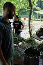 Delavnica Na divje ob Idrijci z Dariem Cortesejem