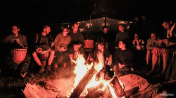 Jam session ob tabornem ognju