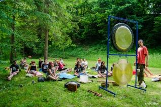 Zvočna kopel z gongi